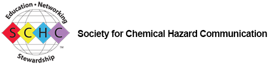 Society for Chemical Hazard Communication – SCHC – a US-based member society with reciprocal arrangements with UK-based CHCS